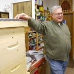 Rick Cooper, Master Beekeper of Bowdoinham, ME
