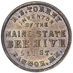 The R. S. Torrey Maine State Beehive, Bangor, 1859