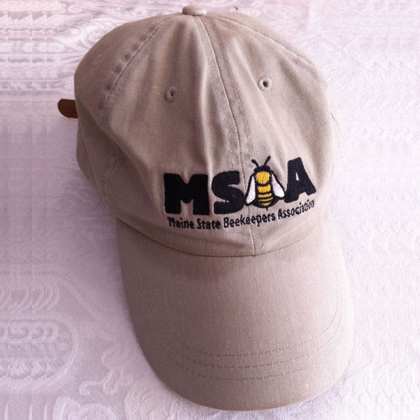 Maine State Beekeepers Association Baseball Hat