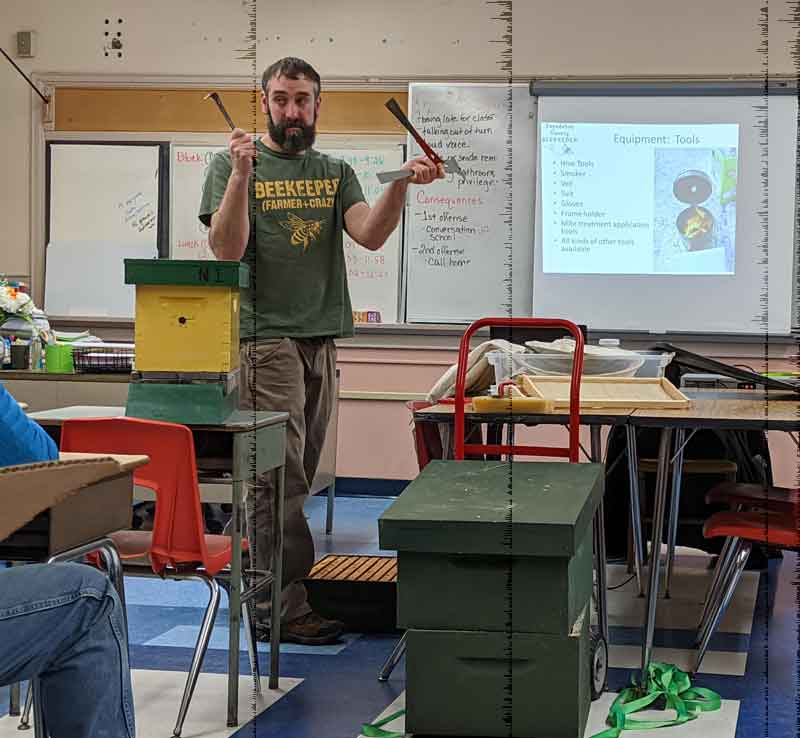 Sagadahoc County Beekeepers Bee School