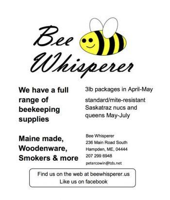 Bee Whisperer Maine